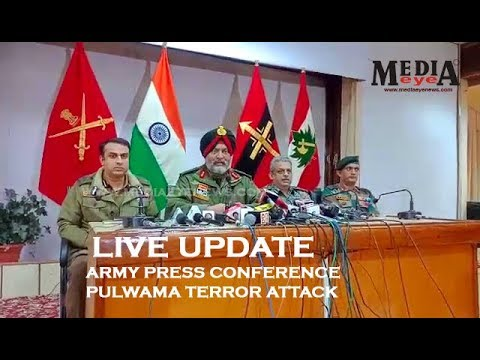 Army Press Conference | Pulwama Terror Attack