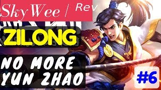 No More Yun Zhao [Rank 1 Zilong]  Zilong Gameplay and Build By SkyWee  ᴿᵉᵛ Mobile Legends.https://www.youtube.com/watch?v=FER7QzfTFJQ#MLBB #YunZhao #Zilong #SkyWee #ShadowCouncil #TopRanked #Rank1 #Toprank Player            : SkyWee  ᴿᵉᵛTeam             : Shadow CouncilBattle Spells : PurifyBuild              : Warrior Boots, Berserker's Fury, Haas's Claw, Scarlet Phantom, Magic Blade, ImmortalityRank              : Glorious LegendMore Videos: Finally !! Rank 1 [Rank 1 Bruno]  Bruno Gameplay and Build By yqyq93 Mobile Legends.https://youtu.be/PkcHYjl-WpkInsane Shadow Skill [Rank 3 Hayabusa]  Hayabusa Gameplay and Build By ᴄʀᴜɴᴄʜSoJu Mobile Legends.https://youtu.be/ljLJLFxgRp0Post Nerf [Rank 1 Saber]  Saber Gameplay and Build By alive.Joker #3 Mobile Legends.https://youtu.be/5YNmEAG1JcoIt's Over 9000!!! [Rank 1 Alucard]  Alucard Gameplay and Build By ◤Saiyan◢ Fredo #4 Mobile Legends.https://youtu.be/jt-j4Bve2noPerfect Play [Rank 4 Fanny]  Fanny Gameplay and Build By  ᴢxυαи εϊɜ Mobile Legends.https://youtu.be/_RTMcYpl_3s===============================================Music :Intro and outro:Warriyo - Mortals (feat. Laura Brehm) [NCS Release] https://www.youtube.com/watch?v=yJg-Y5byMMwConnect with NCS:Snapchat: ncsmusic• http://soundcloud.com/nocopyrightsounds• http://instagram.com/nocopyrightsounds• http://facebook.com/NoCopyrightSounds• http://twitch.tv/nocopyrightsounds• http://twitter.com/NCSounds• http://spoti.fi/NCSWarriyo• https://soundcloud.com/warriyo• https://www.facebook.com/WarriyoMusic/• https://twitter.com/warriyo• https://www.youtube.com/WarriyoMusicLaura Brehm• https://soundcloud.com/laurabrehm• https://www.facebook.com/laurabrehmmusic• https://twitter.com/laurakbrehm• https://www.youtube.com/user/laurabrehmJoin your friends in a brand new 5v5 MOBA showdown against real human opponents, Mobile Legends! Choose your favorite heroes and build the perfect team with your comrades-in-arms! 10-second matchmaking, 10-minute battles. Laning, jungling, tower rushing, team battles, all the fun of PC MOBAs and action games in the palm of your hand! Feed your eSports spirit!Mobile Legends, 2017's brand new mobile eSports masterpiece. Shatter your opponents with the touch of your finger and claim the crown of strongest Challenger!