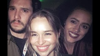 Game of Thrones's Character Emilia Clarke - Behind The Scenes (Random,Funny and Sweet Moments)