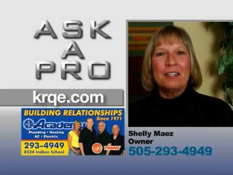 Ask a Pro: Academy Plumbing