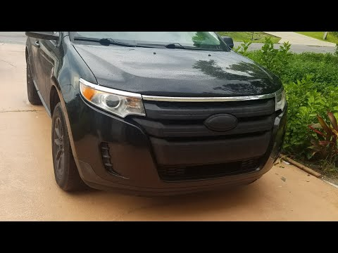 Plasti Dippin  Ford Edge Grill And Wheels