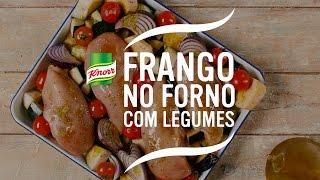 Tempere o frango com o tempero Tempero 100% ingredientes de origem natural de legumes. Reserve.