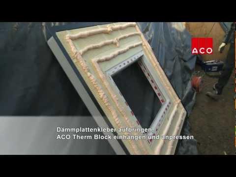 videos einbauvideos aco sterreich. Black Bedroom Furniture Sets. Home Design Ideas