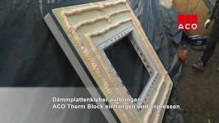 ACO Therm® Block und Lichtschacht