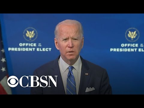 Biden unveils COVID-19 economic response plan and vows to speed up vaccinations