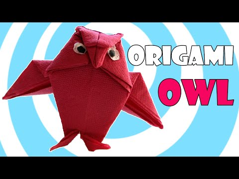 Bird Tutorial - 026 -- Owl