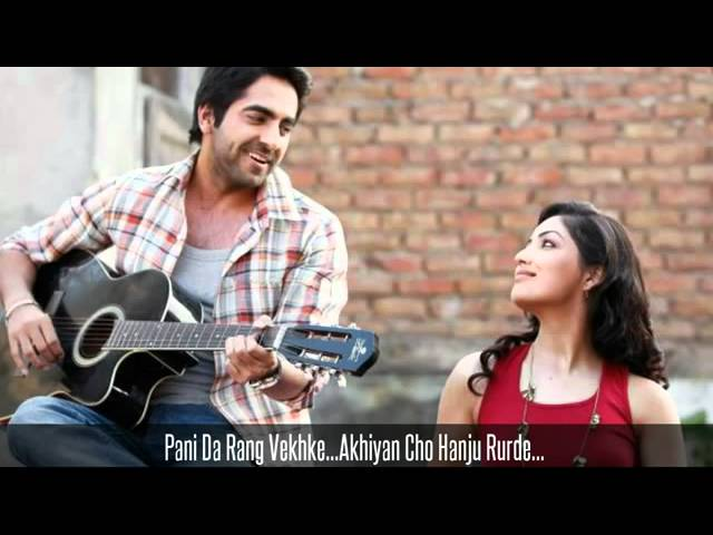 Vicky Donor Pani Da Rang New Hindi Song 2012 April 2012 ...