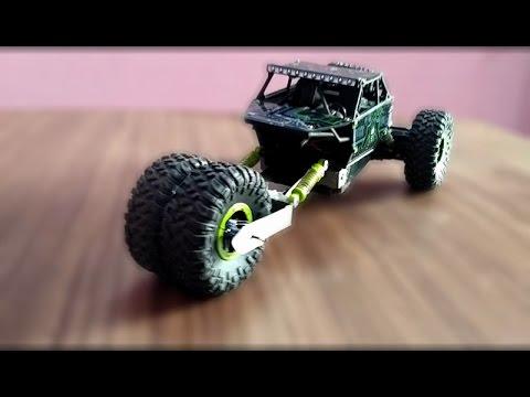 how to modify rc rock crawler as super hero car