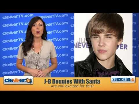 Justin Bieber Shoots Music Video For 'Under the Mistletoe' Christmas Album