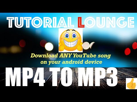 How to Download any song from YouTube( mp4 to mp3 ) - Tutorial Lounge