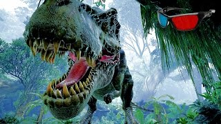 Nonton Dinosaur 3d Anaglyph 3d Jurassic Park Simulation  Hd 3d Red Cyan  Film Subtitle Indonesia Streaming Movie Download