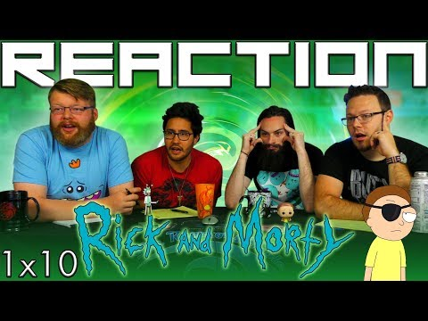 "Rick and Morty 1x10 REACTION!! ""Close Rick-counters of the Rick Kind"""