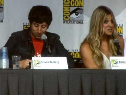 The Big Bang Theory at Comic-Con 2010 (Talking about Ping-Pong ...
