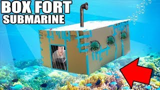 Box fort SUBMARINE CHALLENGE! in this video we build the biggest box fort submarine and survive in it underwater. This funny box fort challenge vlog was hard! We had to build a box fort submarine and survive 24 hours in it. We had to use toys, nerf guns & more to do the underwater in the 24 HOUR BOX FORT SUBMARINE CHALLENGEWORLDS BIGGEST BOX FORT NERF WAR! 1v1 NERF BATTLE!https://youtu.be/pxfEL5qpuKwBOX FORT ZOO CHALLENGE!https://youtu.be/ArSG0Wnj828BOX FORT Vs VOLCANO CHALLENGE!https://youtu.be/mOyGEkgYNS8BOX FORT BOAT VS TSUNAMI CHALLENGE!https://youtu.be/yVUCcLQpFzYFLYING BOX FORT CHALLENGE! 📦 https://youtu.be/uylorgdebp4BOX FORT BOAT SURVIVAL CHALLENGE! https://youtu.be/k1kGBjlyYzEGet Awesome Papa Jake Merchandise! https://shop.bbtv.com/collections/team-epiphanySubscribe To My Gaming Channel - Papa Jake Games! https://www.youtube.com/watch?v=a01luoUVJ5cSubscribe To My Second Channel - Papa Jake Toyshttps://www.youtube.com/channel/UCmeNL9Nc2H1Mezu3gcb1hlAFOLLOW ME!!! LET'S BE FRIENDS:● Twitter - https://goo.gl/s1laJW● Facebook - https://goo.gl/sCnm8B● Instagram - https://goo.gl/x6H5Er● Snapchat - PapaJakeTE● Logan The Editor Instagram - https://goo.gl/842JeDCheck Out The Awesome Glowing 1000 degree KNIFE Videos:.com/watch?v=KiWNeqG_fp4MAIL ME STUFF :)119-660 Eglinton AVE.EAST SUITE 201 TORONTO, ON. M4G 2K2CanadaWARNING: This video is only for entertainment purposes. Do not attempt to recreate any of the acts in this video, as they may be dangerous if not done correctly, and could result in serious injury. If you rely on the information portrayed in this video, you assume the responsibility for the results. Have fun, but always think ahead, and remember that every project you try is at YOUR OWN RISK.