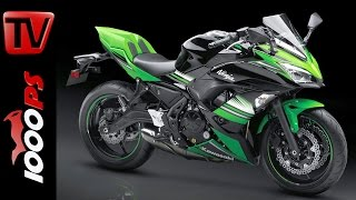1. Kawasaki Ninja 650 2017 - Specs and News