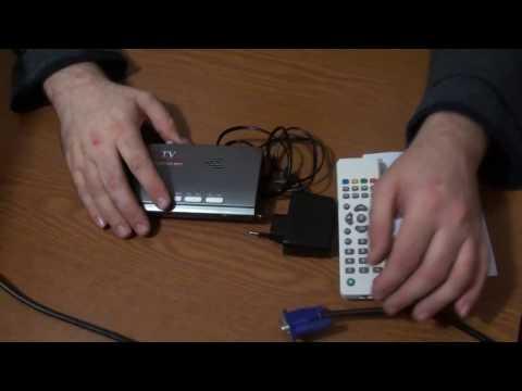 ТВ-Тюнер Приемник DVB T/T2 TV Box VGA А. В. CVBS HDMI цифровой HD ресивер для LCD/CRT мониторы