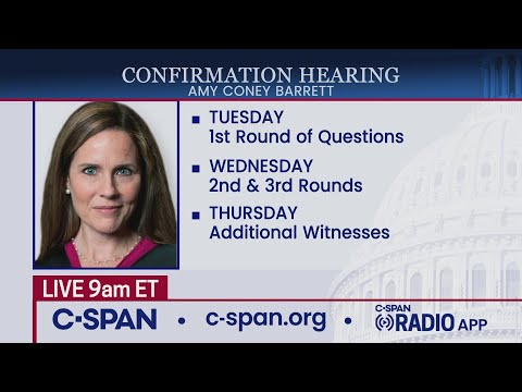 Confirmation hearing for Supreme Court nominee Judge Amy Coney Barrett (Day 4)