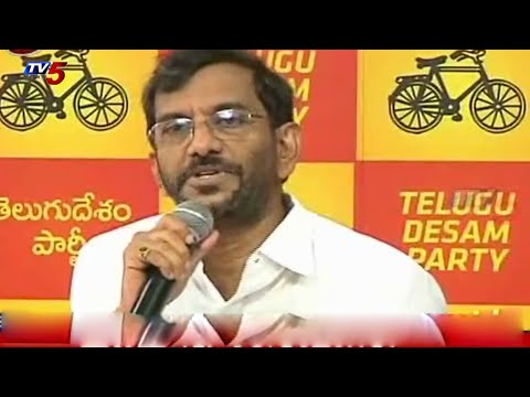 Its a Sensational decision | Somireddy on Chandra babu : TV5 News