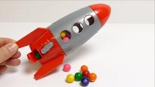 Video Rocket Dubble Bubble Gumball Machine Toy ガムボールマシーン MP3, 3GP, MP4, WEBM, AVI, FLV Agustus 2017