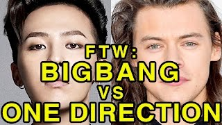 Video For the Win: BIGBANG vs One Direction MP3, 3GP, MP4, WEBM, AVI, FLV Maret 2019