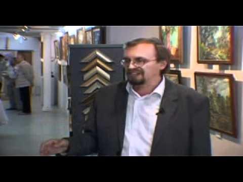 Выставка художника Бориса Глубокова в галерее искусств Эстетика