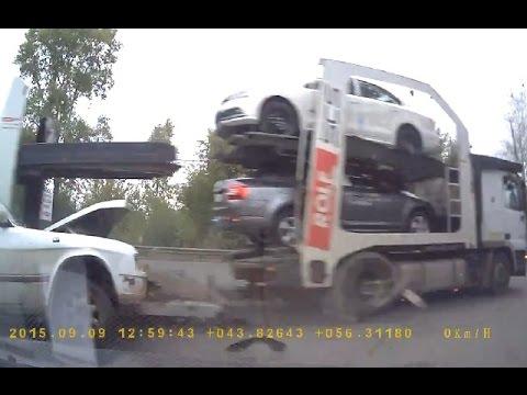 Аварии грузовиков 2015 Сентябрь, часть 2