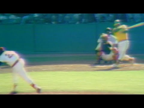 1975 ALCS Gm1: Tiant Fans Bando For Eighth Strikeout