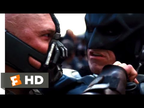 The Dark Knight Rises (2012) - Batman vs. Bane Scene (7/10) | Movieclips