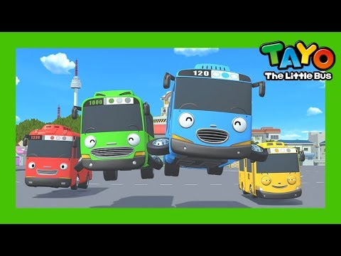 Tayo Español la Serie La apertura l Tayo El Pequeño Autobús Español