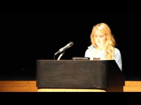 Lenawee Christian Testimony Speech