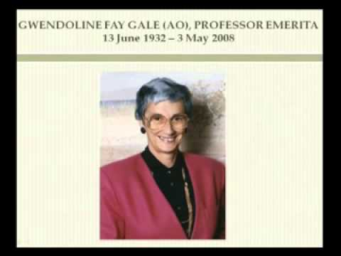 View Fay Gale Lecture 2010: A provocation from the periphery video