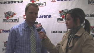 Cincinnati Cyclones October 31 Postgame Interviews