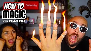 5 Magic Tricks with Candles