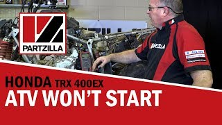 4. Help! My ATV Won't Start! What to Check First | Partzilla.com