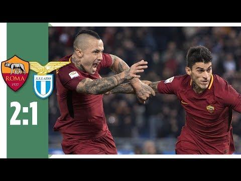"AS Rom - Lazio Rom 2:1 / Nainggolan entscheidet das ""Derby della Capitale"""""