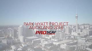 Park Hyatt Project Auckland | Proscaf Scaffolding