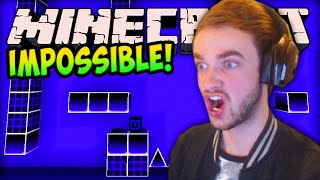Minecraft The Impossible Game! LIVE w/ Ali-A! (Minecraft 1.8 Geometry Wars)