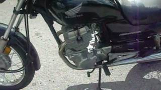 10. New Bike- Honda CB250 Nighthawk