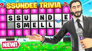 COMPLETING The SSUNDEE QUIZ (Fortnite)