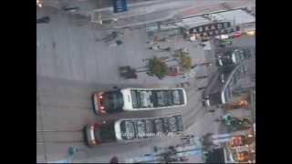 Timelapse Landstraße 21.6.2013 Linz vom Höhenrausch aus gefilmt