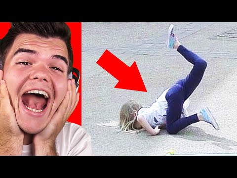 Reacting To THE FUNNIEST FAIL VIDEOS! (Try Not To Laugh Challenge)