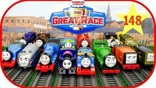 THOMAS AND FRIENDS The Great Race #148 TRACKMASTER ASHIMA |Thomas & Friends Toys Trains Kids