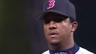 4/19/02: Pedro Martinez reaches the 2000 strikeout milestone Check out http://MLB.com/video for more! About MLB.com: Former...