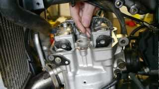 8. DRZ 400 - Valve Clearance Check