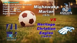 Soccer Semistate Finals - H.Christian vs M. Marian