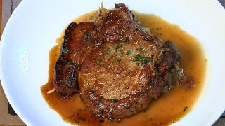 Chef Andrew Whitcomb of Colonie in Brooklyn gives us the recipe to his restaurant's slow-roasted pork chop with braised...