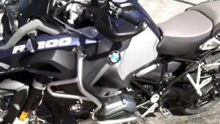 6. 2016 BMW R 1200 GS Adventure Low Ocean Blue Metallic Matte at Euro Cycles of Tampa Bay