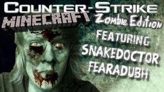Counter Strike Source - Zombies - Minecraft Adventure Mod!