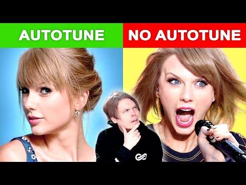 Autotune vs No Autotune (Taylor Swift, Maroon 5 & MORE)