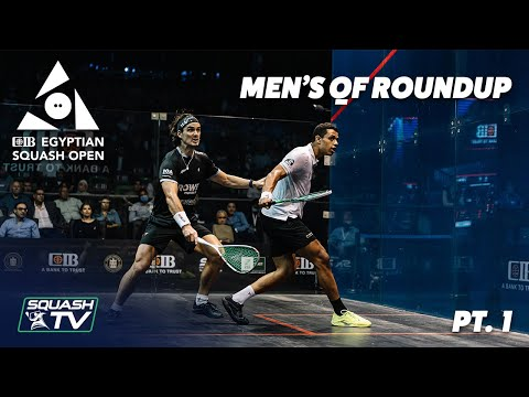 Squash: CIB Egyptian Squash Open 2020 - Men's QF Roundup [Pt.1]